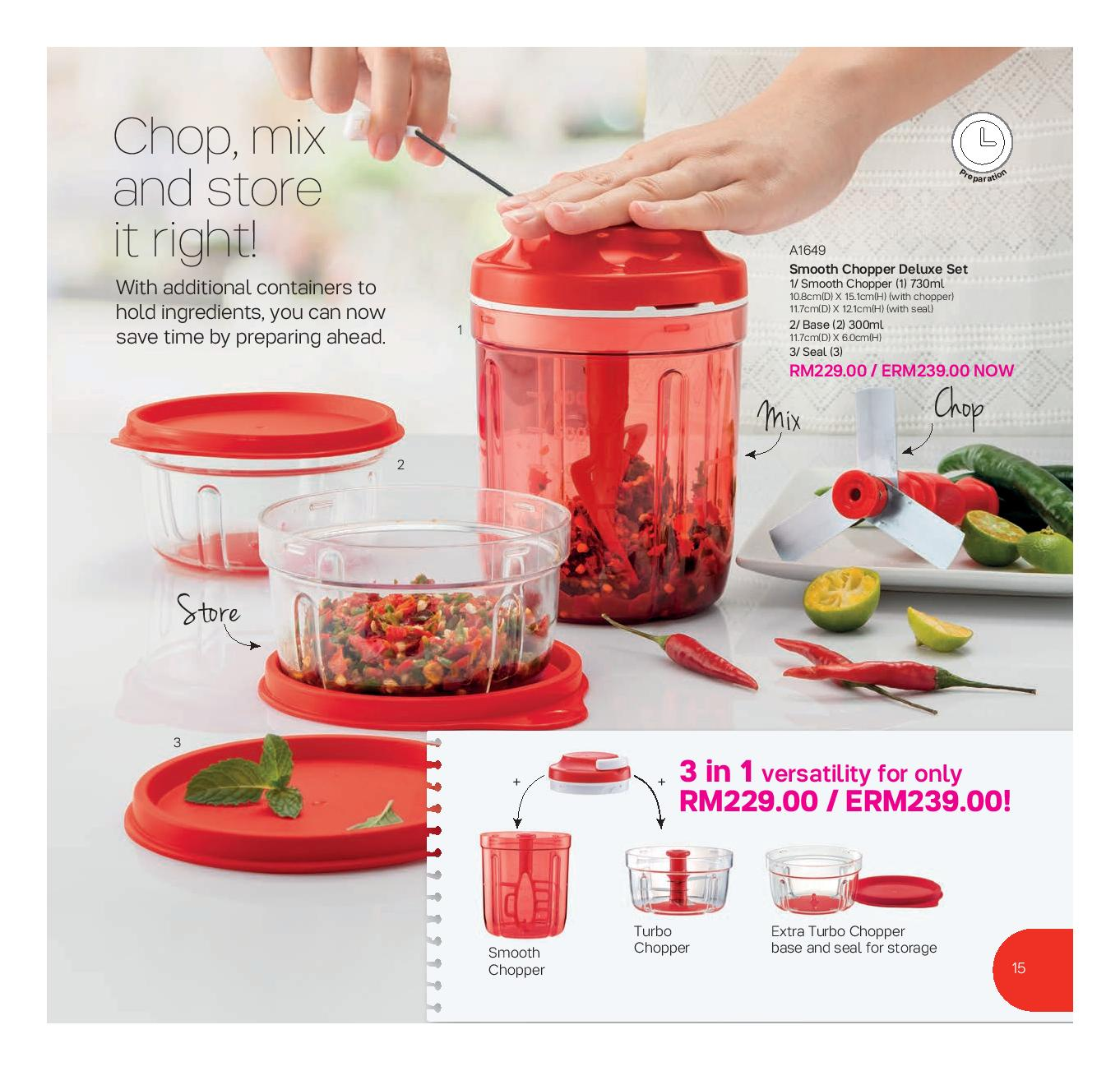 tupperware catalog 01 july 2016 12 august 2016 tupperware kakakshop tupperware malaysia. Black Bedroom Furniture Sets. Home Design Ideas