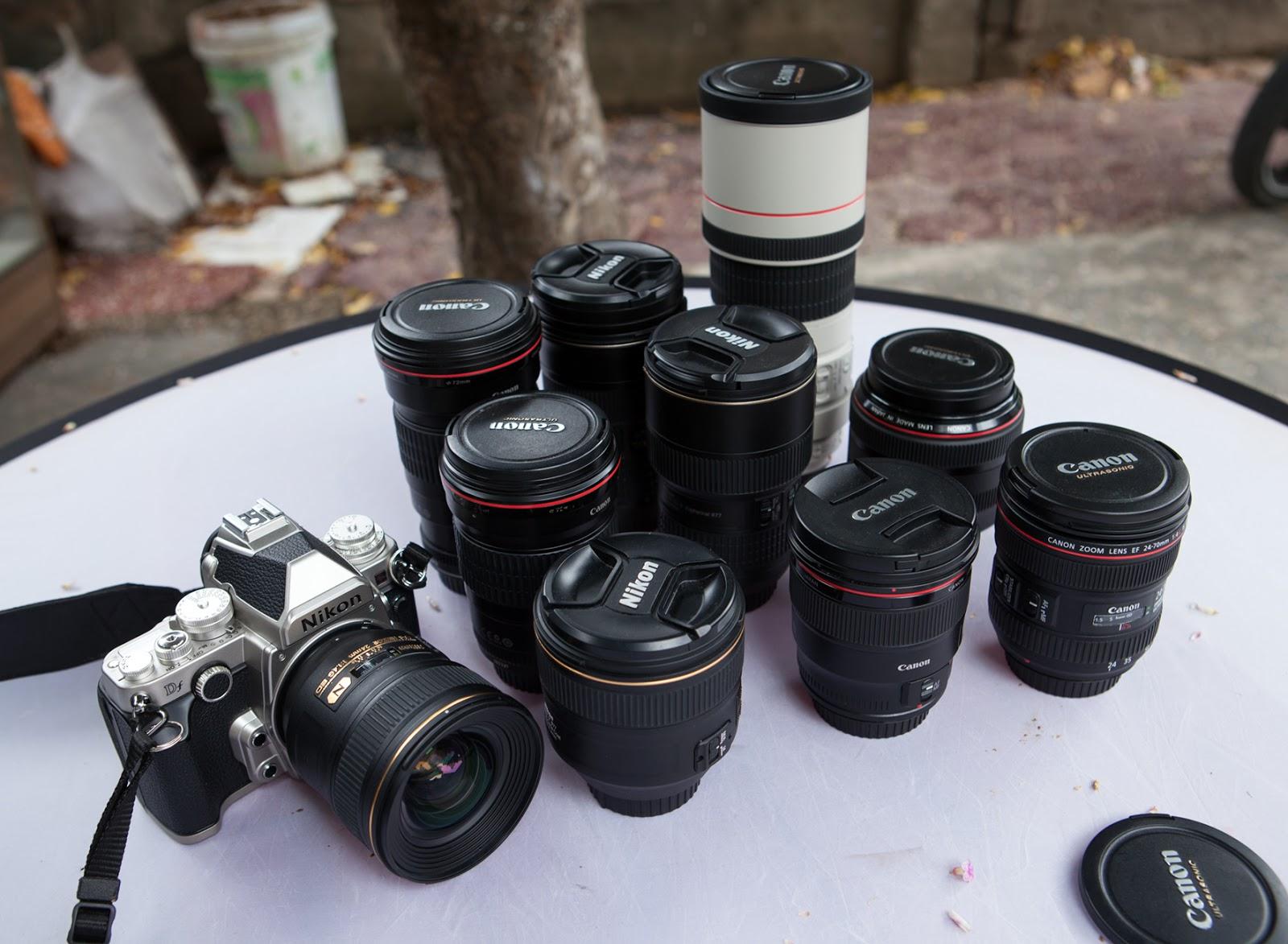 Cho thuê máy ảnh, ống kính, flycam tại Nghệ An.