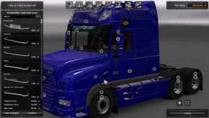 DAF XT Rework truck mod