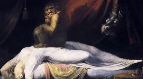 Los íncubos y su relación con la parálisis de sueño