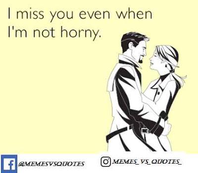 I'm not horny