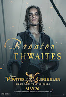 Pirates of the Caribbean Dead Men Tell No Tales Poster Brenton Thwaites 1