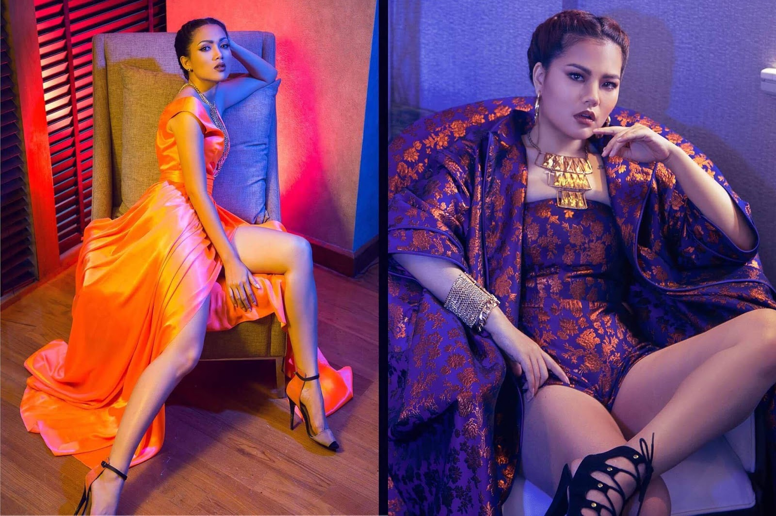 Thinzar Wint Kyaw , Aye Myat Thu and Sandi Myint Lwin Features Together In Moda Fashion Magazine Cover