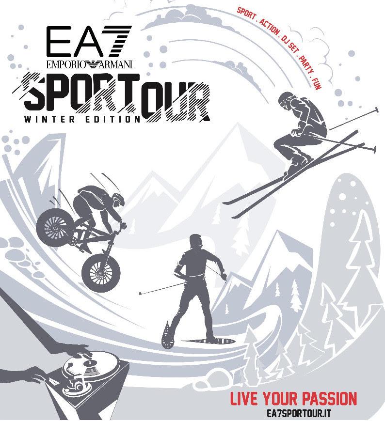size 40 439e8 bcdf7 RCS Sport presenta Sportour, l'evento firmato EA7 Emporio ...