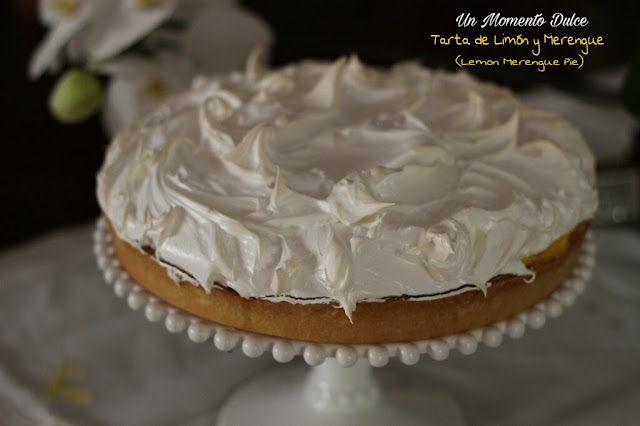 TARTA DE LIMÓN Y MERENGUE SUIZO (LEMON MERENGYE PIE)