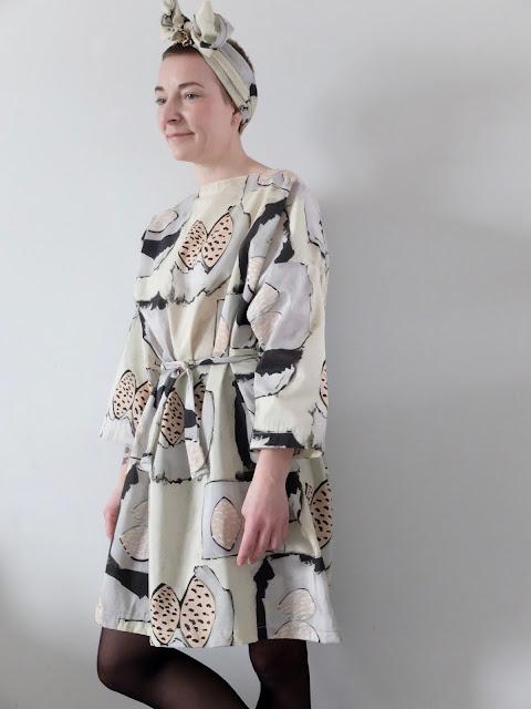 Samuji, silkdress, selfmade,
