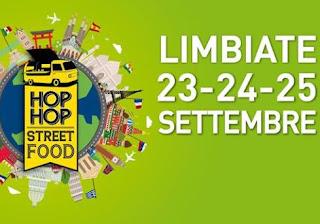 Hop Hop Street Food 23-24-25 settembre Limbiate