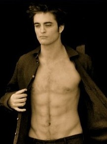Twilight Edward Abs