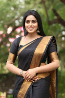 Poorna in Cute Backless Choli Saree Stunning Beauty at Avantika Movie platinum Disc Function ~  Exclusive 135.JPG