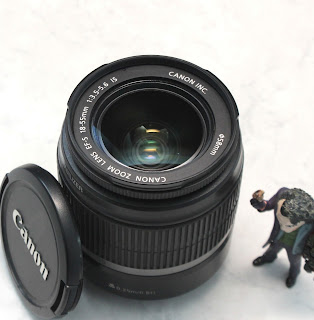 Lensa Kit Canon 18-55mm Bekas Di Malang