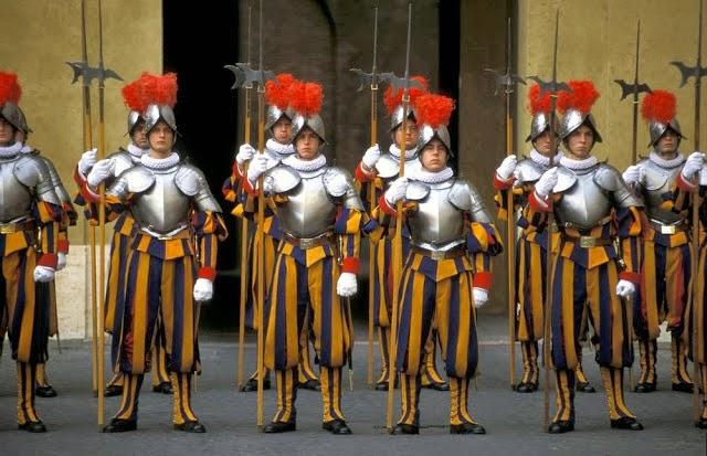 Pauselijke Zwitserse brigade