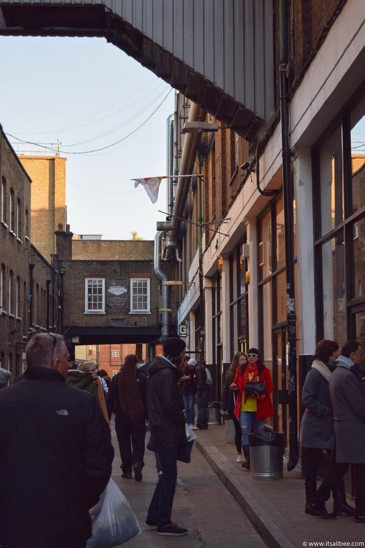 Vintage market in brick lane