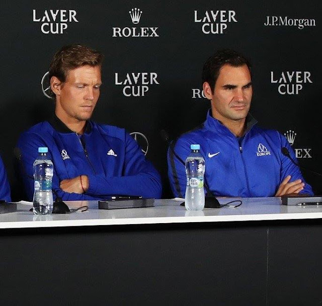 Roger Federer about bjorn and John