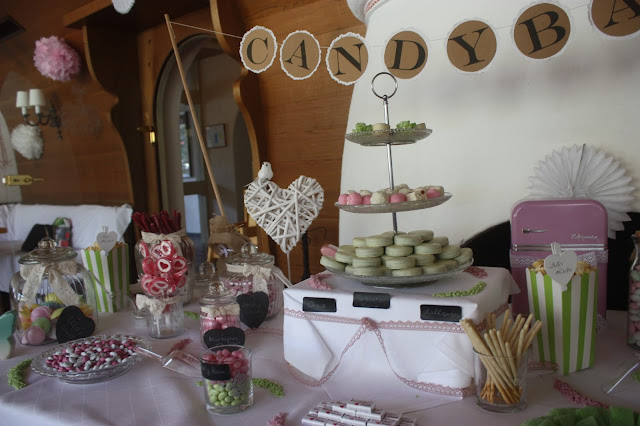 Sandy Candy Sweet Table Vintage-Hochzeit Riessersee Hotel Garmisch-Partenkirchen, Bayern - Vintage wedding in Germany, Bavaria, Garmisch