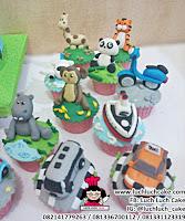 Kue Tart dan Cupcake Tema Binatang