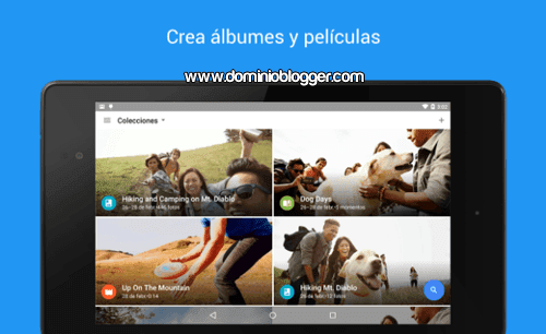 Organiza tus fotos y videos con Google Fotos