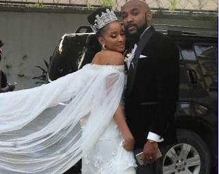 """When a romantic comedy becomes a romantic reality"" - Mo Abudu congratulates BankyW and Adesua Etomi on their nuptials"