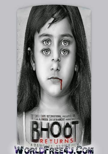 Poster Of Bollywood Movie Bhoot Returns (2012) 300MB Compressed Small Size Pc Movie Free Download worldfree4u.com