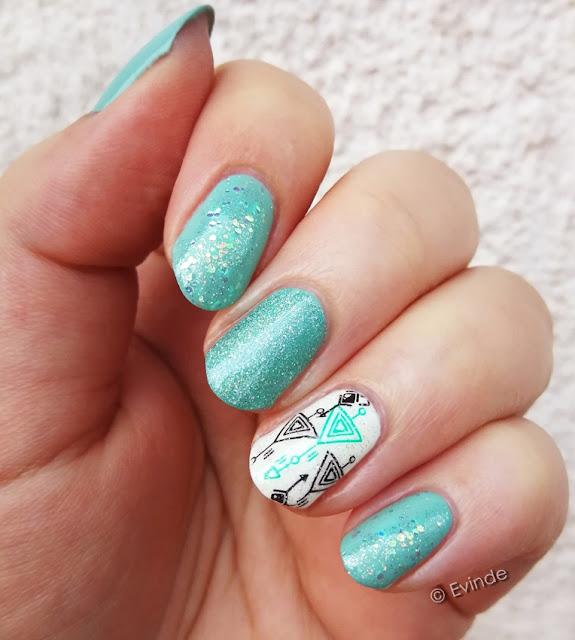 geometry nail stamping
