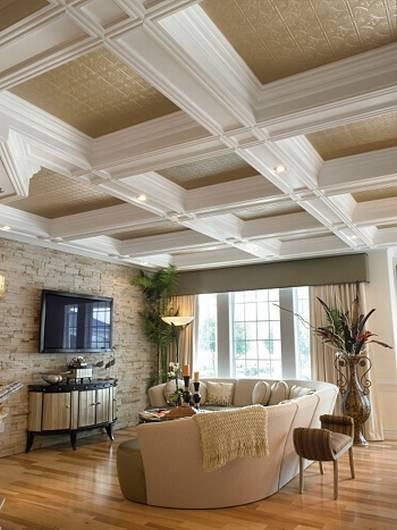 Fresh Decor: Cool Ceiling Interior Design