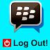 Cara Logout BBM Android dan BlackBerry Dengan Mudah