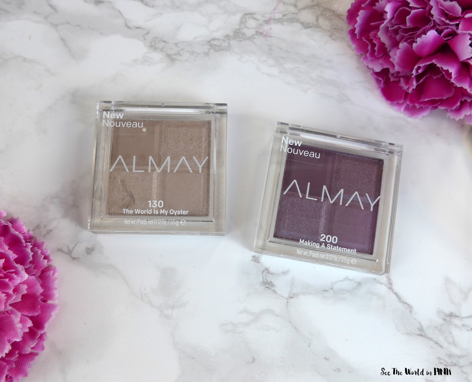 Shimmery Almay Spring Products - Shadow Squad