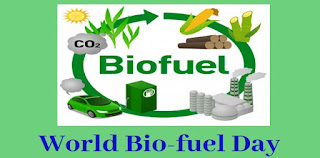 10th August Observed as World Biofuel Day
