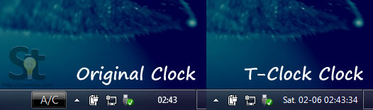 Show Seconds, Unix Epoch Time On Windows Taskbar Clock | SumTips