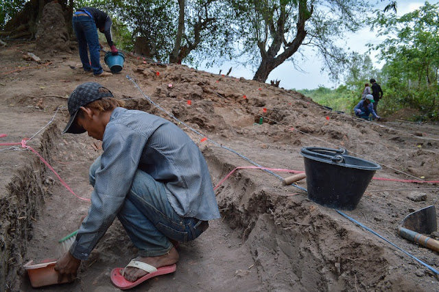 Choeung Ek dig unearths Angkor-era kiln