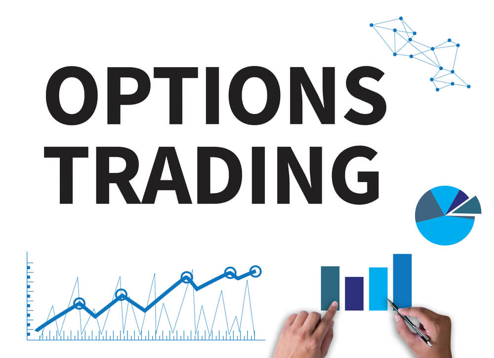 Options trading written on a graph