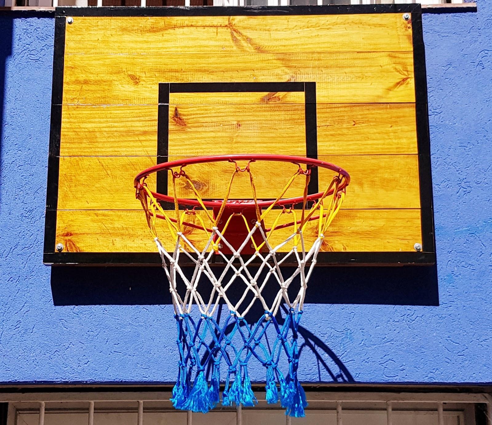 aro de basquet rustico