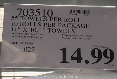 Costco 703510 - Deal for the Scott Original Shop Towels at Costco