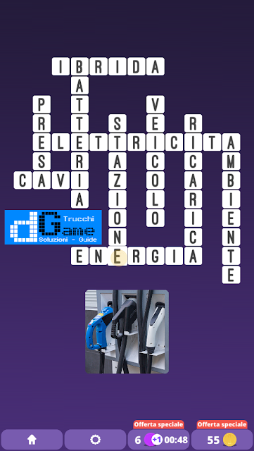Soluzioni One Clue Crossword livello 24 schemi 6 (Cruciverba illustrato)  | Parole e foto