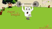 Paper weight cartoon