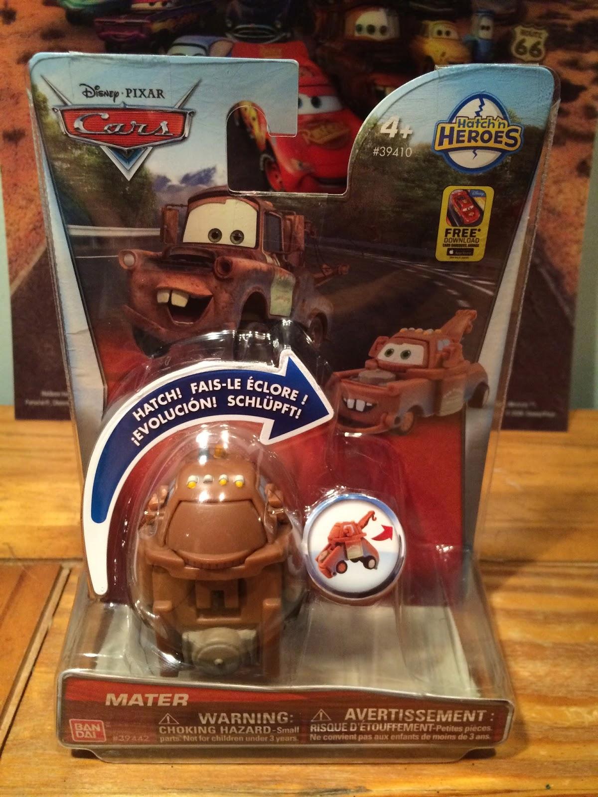 Dan The Pixar Fan Cars Hatch N Heroes Part 1 Lightning Mcqueen