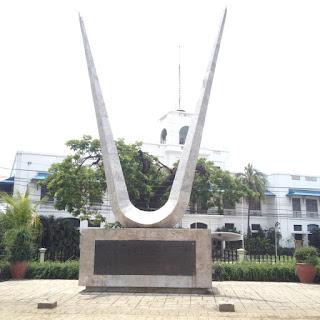 Cebu War Veterans Memorial at Plaza Independencia in Cebu City, Philippines