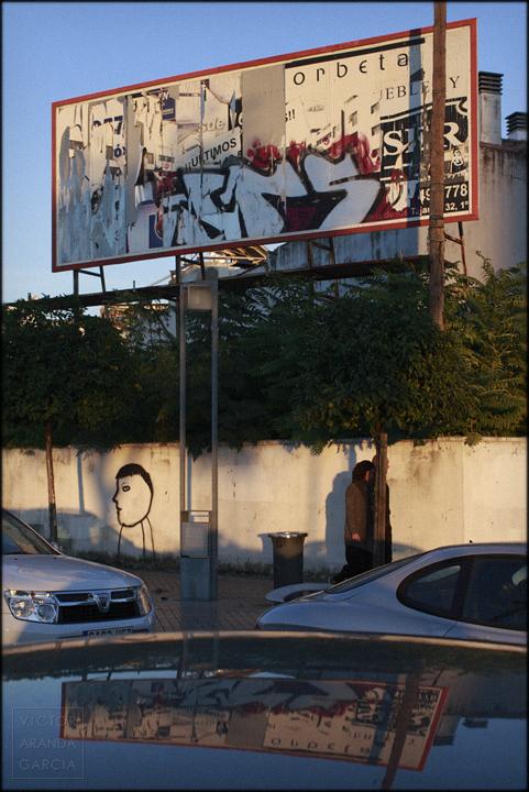 fotografia,cartel,cordoba,limites,arriba-extraña,reflejo,serie,arte,mito