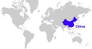 Gambar Peta letak China