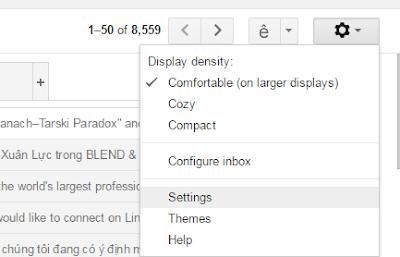 cách đưa email vào primary