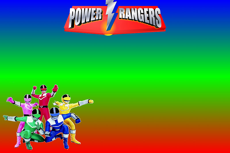 power rangers free printable