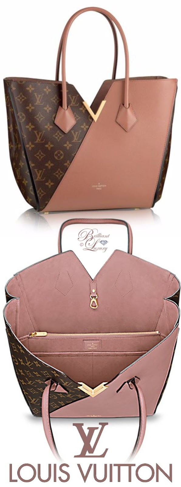 Brilliant Luxury ♦ Louis Vuitton Kimono #bag