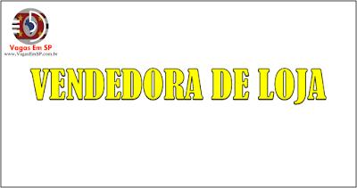 VENDEDORA DE LOJA
