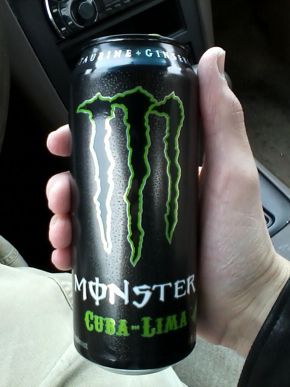 caffeine review for monster energy cuba lima
