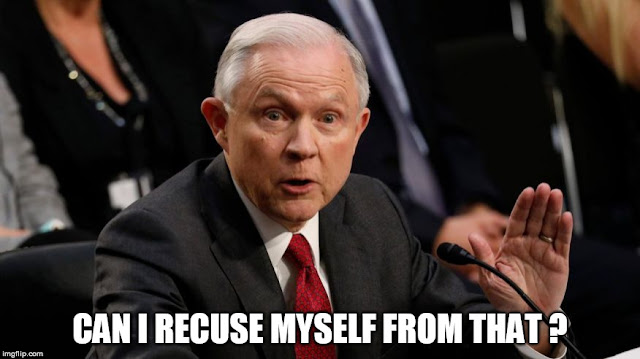 Jeff Sessions Recuse me