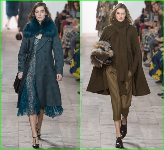 Michael Kors Herbst-Winter 2015/2016  Damen-mäntel