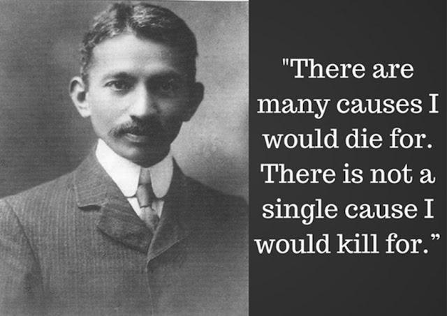Mahatma Gandhi ON AHIMSA