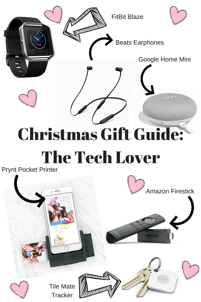 CHRISTMAS GIFT GUIDE - THE TECH LOVERS | The Emeli Edit