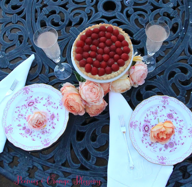 Raspberry Rose French Tart Recipe