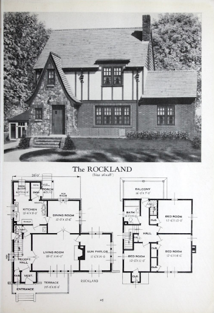 Standard Homes Rockland 1929 catalog lookalike to Sears Barrington
