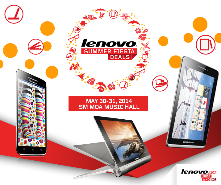 Lenovo Summer Fiesta Deals